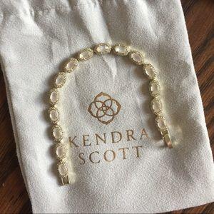 Kendra Scott gold Cole bracelet